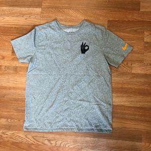 Grey Athletic Nike tee